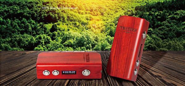 Smok Treebox mini Zebrawood TC 75