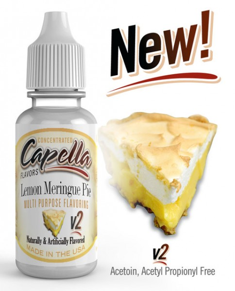 Capella Aroma 13ml Lemon Meringue Pie V2