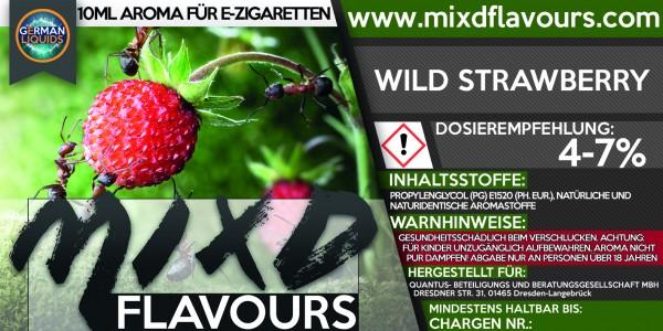 MIXD Flavours Aroma 10ml Wild Strawberry