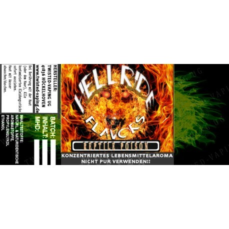 Twisted Flavors-Aroma (10 ml) Hellride Reptile Poison