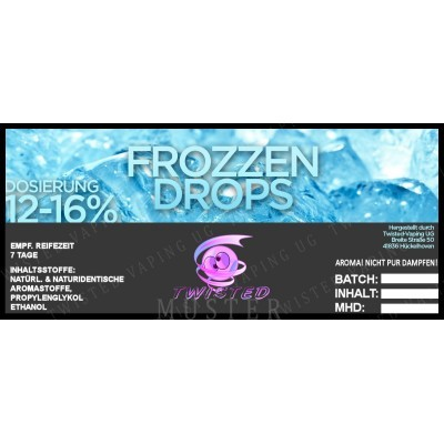 Twisted Flavors-Aroma (10 ml) Frozzen Drops