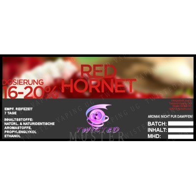 Twisted Flavors-Aroma (10 ml) Red Hornet