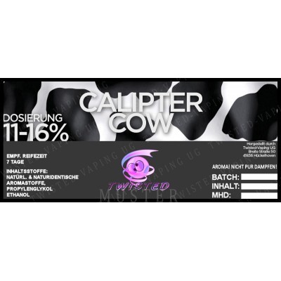 Twisted Flavors-Aroma (10 ml) Calipter Cow