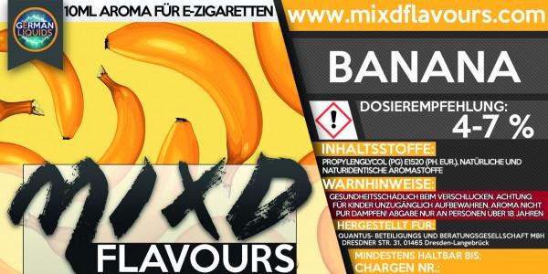 MIXD Flavours Aroma 10ml Banana