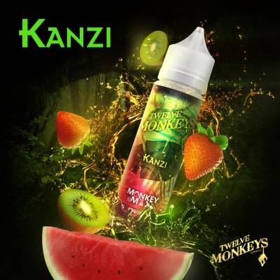 Kanzi - Twelve Monkeys Liquid 50ml 0mg