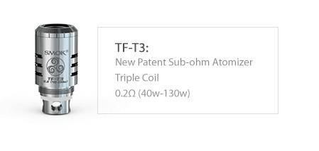 Smok TFV4 T3 Verdampferkopf mit 0,2 Ohm