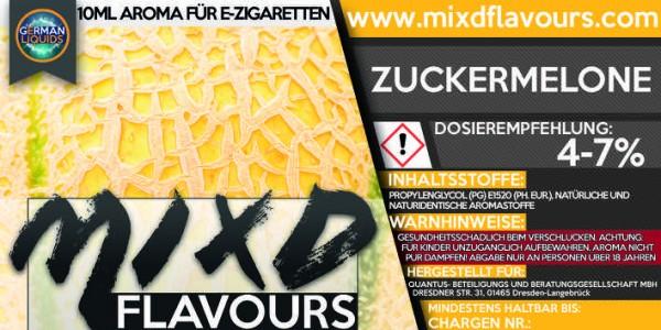 MIXD Flavours Aroma 10ml Zuckermelone