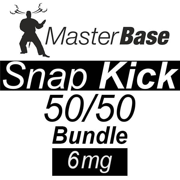 MasterBase Snap Kick 50/50 1000ml 6mg Bundle