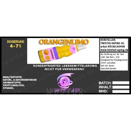 Twisted Flavors-Aroma (10 ml) Orangenlimonade