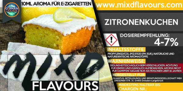 MIXD Flavours Aroma 10ml Zitronenkuchen