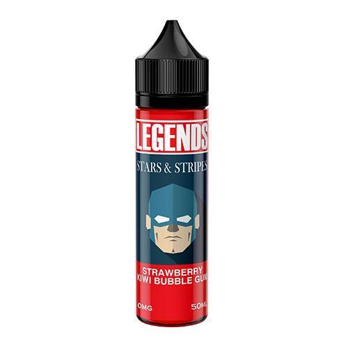 Stars & Stripes - Legends Liquid 50ml 0mg