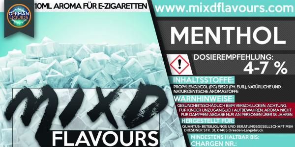 MIXD Flavours Aroma 10ml Menthol