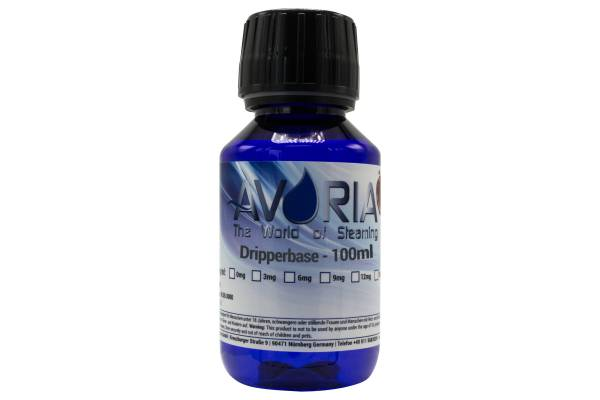 Avoria Dripperbase 100ml