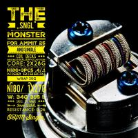 The SNGL Monster (2 Stück) by Tasty Ohm Coils
