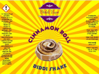 Cinnamon Roll - Diddi Shake Liquid 120ml