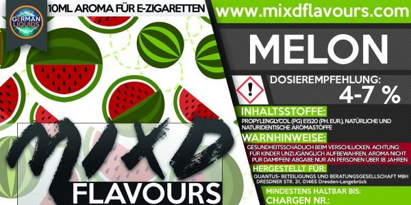 MIXD Flavours Aroma 10ml Melon