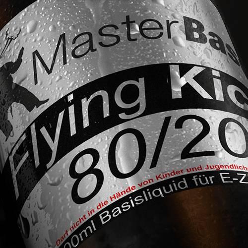 MasterBase Flying Kick 80VG/20PG 1000ml 0mg
