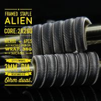 Framed Staple Alien (2 Stück) by Tasty Ohm Coils