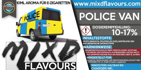 Police Van - MIXD Flavours Aroma 10ml