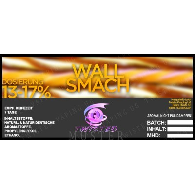 Twisted Flavors-Aroma (10 ml) Wall Smash