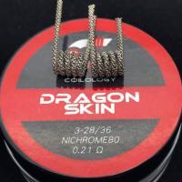 Coilology Dragon Skin Coil (2Stück Handgefertigt)