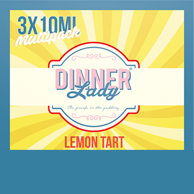 Dinner Lady Lemon Tart Multipack 3x10ml