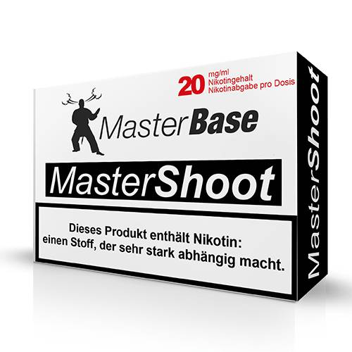 MasterShoot 50/50 - MasterBase 5x10ml 20mg