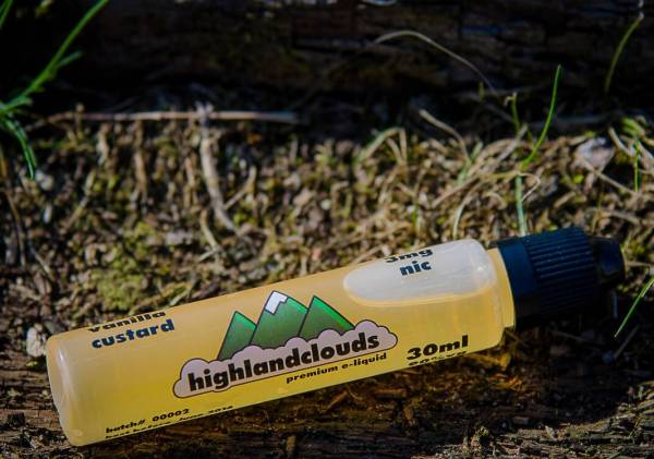 Highlandclouds E-Liquid 30ml 3mg Vanilla Custard