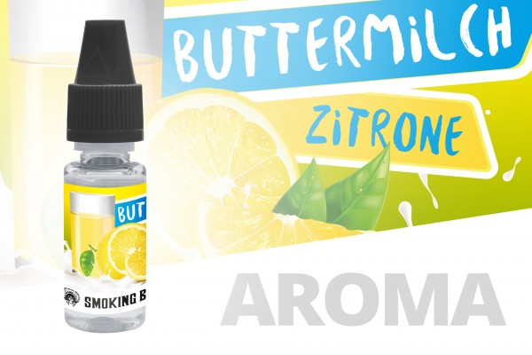 Smoking Bull Aroma 10ml Buttermilch Zitrone