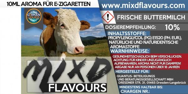 MIXD Flavours Aroma 10ml Frische Buttermilch