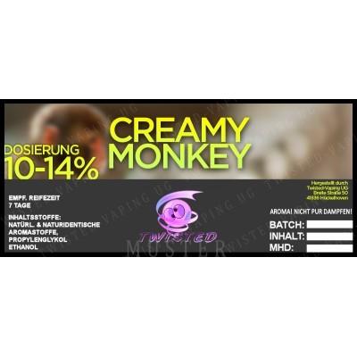 Twisted Flavors-Aroma (10 ml) Creamy Monkey