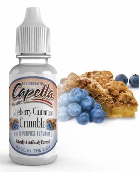 Blueberry Cinnamon Crumble - Capella Aroma 13ml
