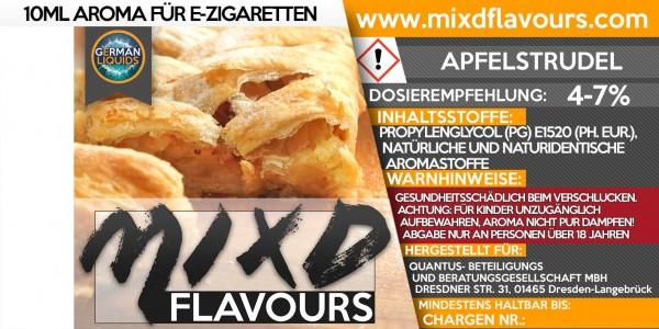 MIXD Flavours Aroma 10ml Apfelstrudel