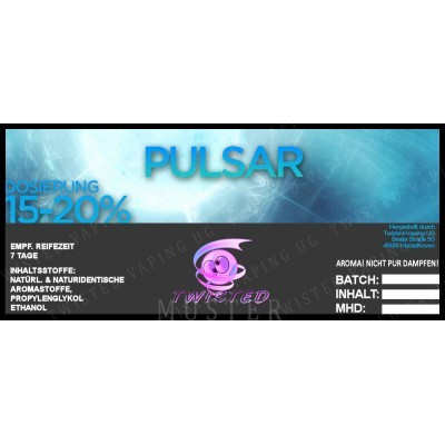 Twisted Flavors-Aroma (10 ml) Pulsar