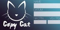 """""""CopyCat"""" - Etikett für Leerflaschen - 60x30mm"""