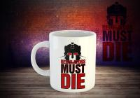"Copy Cat ""Regulators must die"" Tasse"