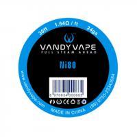 Vandy Vape Ni80 Wickeldraht 10 Meter