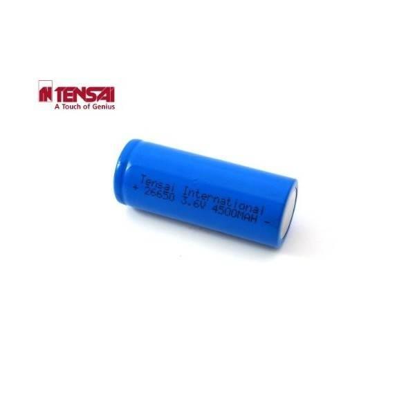 Tensai 26650 - 4700mAh 3,6V-3,7V, 9A, Li-Ion Akku (Flat Top)