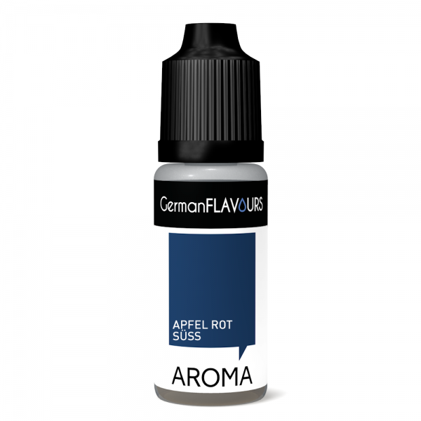 German Flavours Aroma 10ml Apfel Red Delicious-(rot süss)
