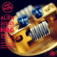 Team Tasty Ohm Coil Comp Alien 2st