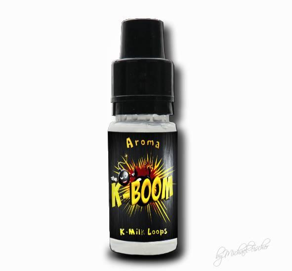 K-Boom Aroma 10ml K-Milk Loops