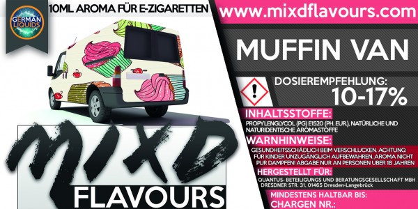MIXD Flavours Aroma 10ml Muffin Van