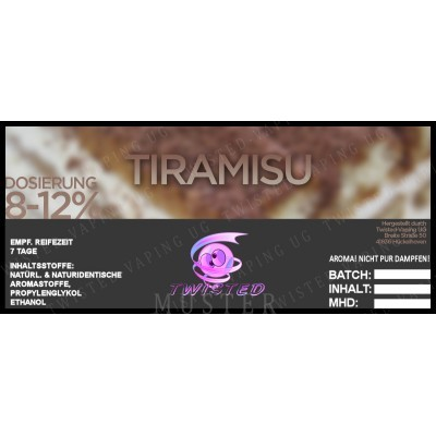 Twisted Flavors-Aroma (10 ml) Tiramisu