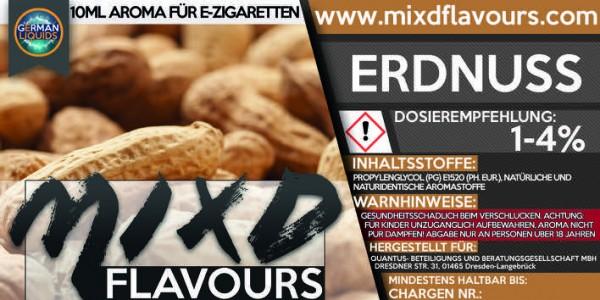 MIXD Flavours Aroma 10ml Erdnuss