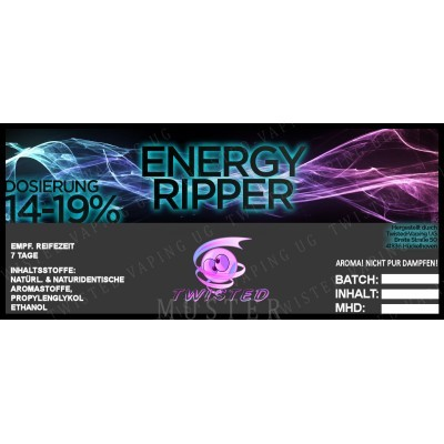 Twisted Flavors-Aroma (10 ml) Energy Ripper