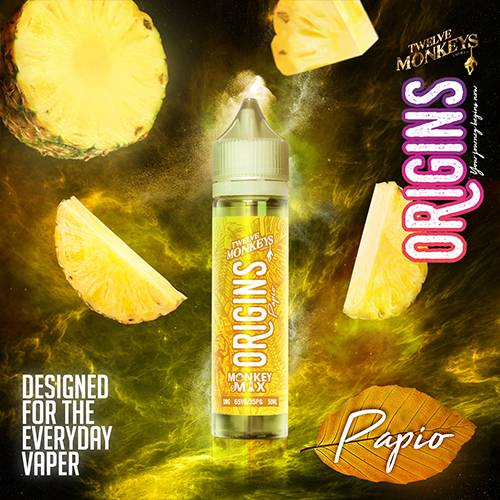 Papio - Twelve Monkeys Origins Liquid 50ml 0mg