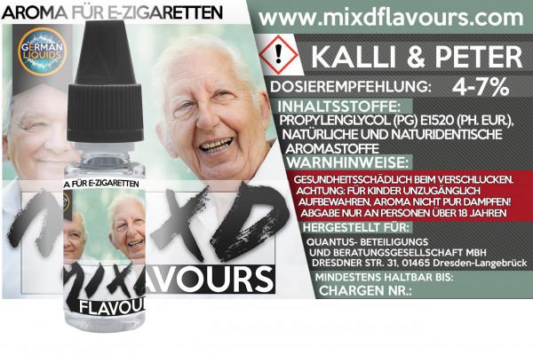 MIXD Flavours Aroma 10ml Kalli & Peter
