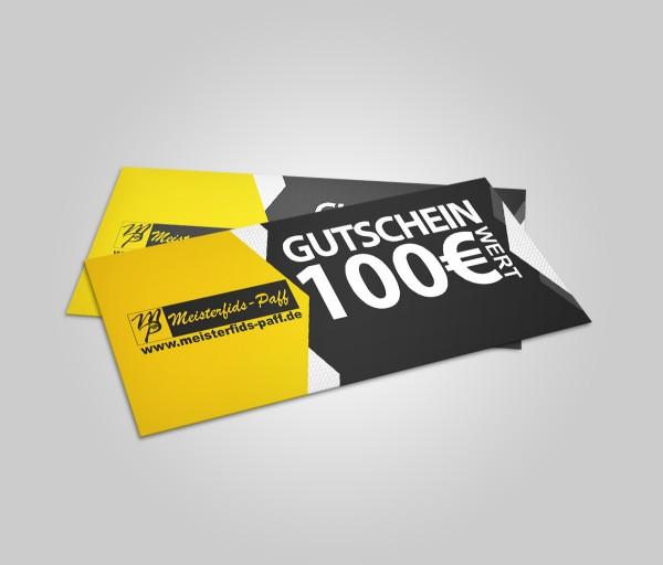 100 Euro Geschenkgutschein