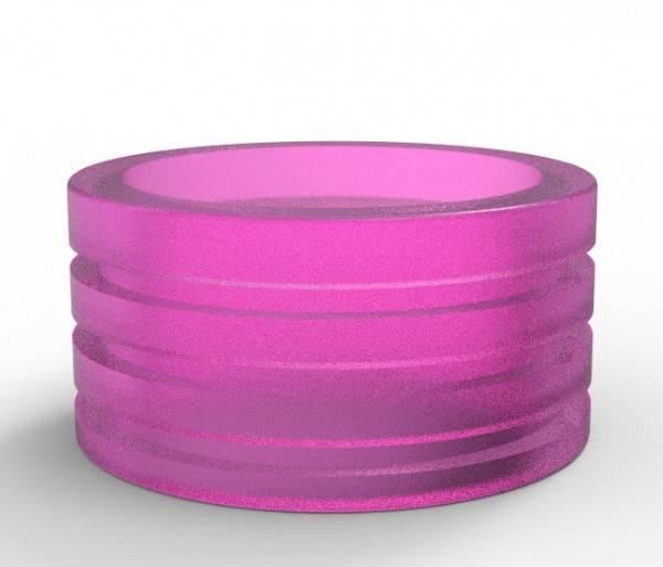 Nebelfee Jigsaw Drip Tip - Shield Acryl