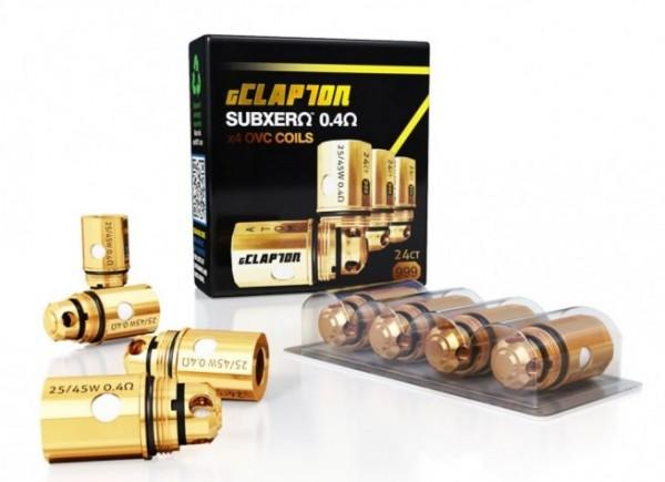 Atom gClapton OVC Coils f. Kyodo Tank 0,4 Ohm (4er Pack)
